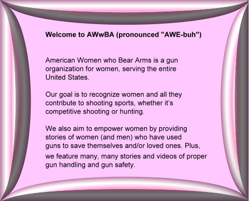 AWwBA short mission statement