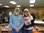 Michelle with Ray from Ray's Gun Shop